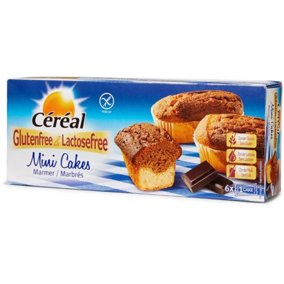 Cereal Mini Cakes Marbres