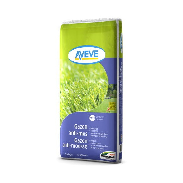 Aveve gazon anti mousse for Bayer jardin anti mousse