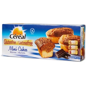 Cereal Mini Cakes Marbres 200 g