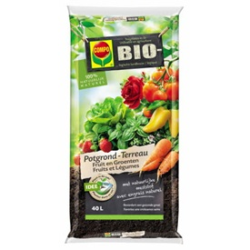 Compo Terreau Bio Fruits & Légumes 40 l