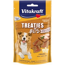 Vitakraft Treaties Bits Bacon Poulet 120 g